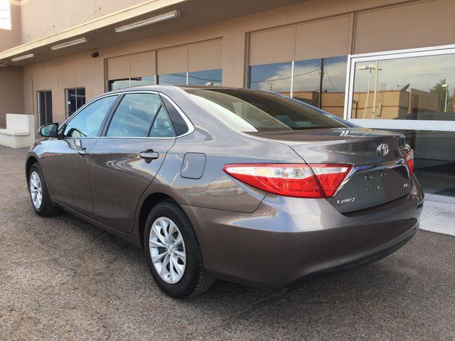 2015 Toyota Camry LE 5 YEAR/60,000 FACTORY POWERTRAIN WARRANTY Mesa, Arizona 2