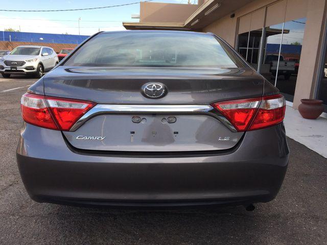 2015 Toyota Camry LE 5 YEAR/60,000 FACTORY POWERTRAIN WARRANTY Mesa, Arizona 3