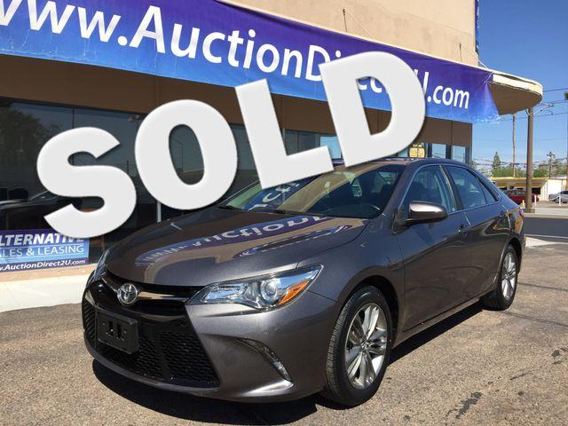 2015 Toyota Camry SE 5 YEAR/60,000 FACTORY POWERTRAIN WARRANTY Mesa, Arizona