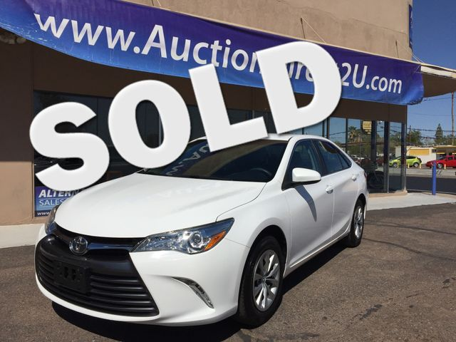 2015 Toyota Camry LE 5 YEAR/60,000 MILE FACTORY POWERTRAIN WARRANTY Mesa, Arizona