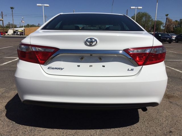 2015 Toyota Camry LE 5 YEAR/60,000 MILE FACTORY POWERTRAIN WARRANTY Mesa, Arizona 3