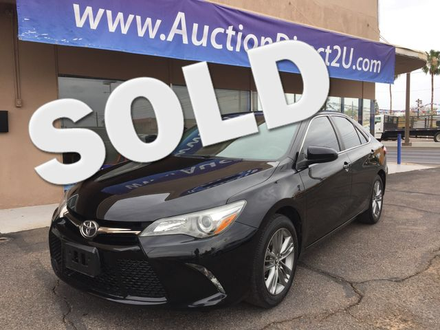 2015 Toyota Camry SE 5 YEAR/60,000 MILE FACTORY POWERTRAIN WARRANTY Mesa, Arizona