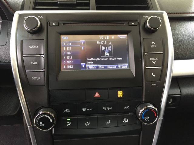 2015 toyota camry audio upgrade