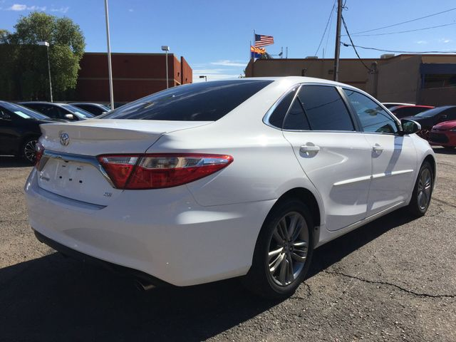 2015 Toyota Camry SE 5 YEAR/60,000 MILE FACTORY POWERTRAIN WARRANTY Mesa, Arizona 4