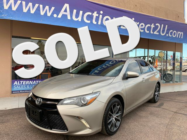 2015 Toyota Camry XSE 5 YEAR/60,000 MILE FACTORY POWERTRAIN WARRANTY Mesa, Arizona