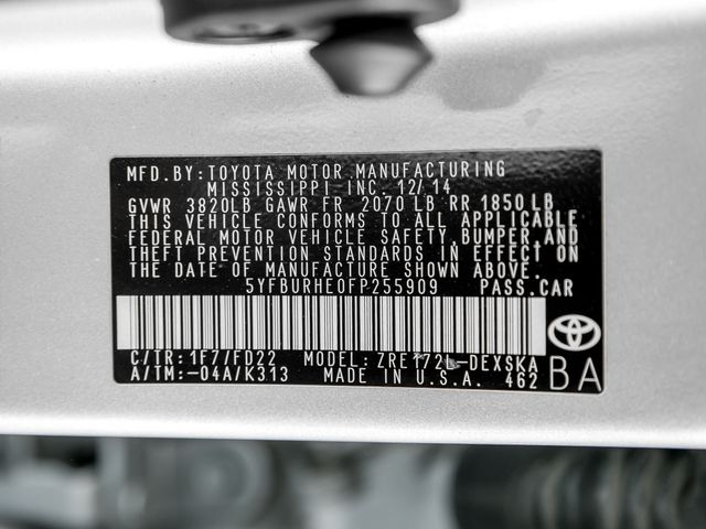 2015 Toyota Corolla S Burbank, CA 28