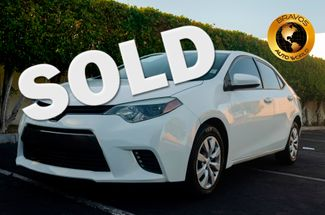 2015 Toyota Corolla in cathedral city, California