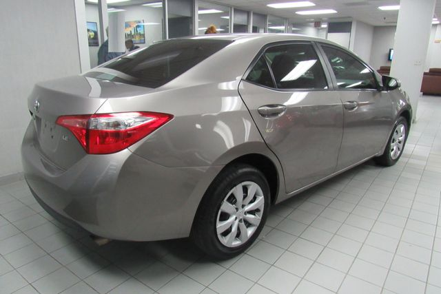 2015 Toyota Corolla LE W/ BACK UP CAM Chicago, Illinois 3