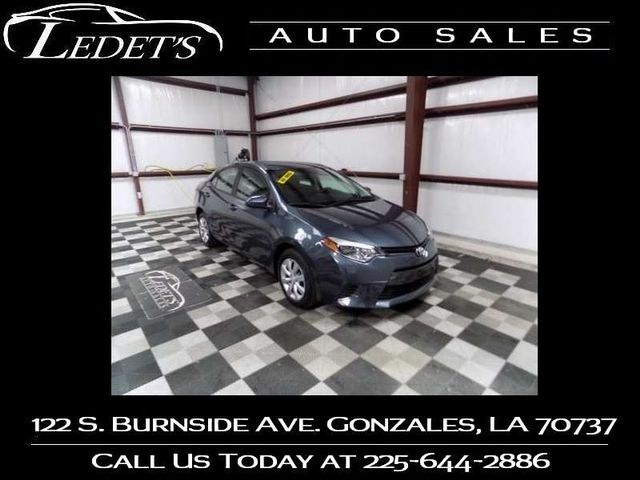 2015 Toyota Corolla LE - Ledet's Auto Sales Gonzales_state_zip in Gonzales