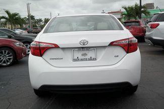 2015 Toyota Corolla LE Hialeah, Florida 4