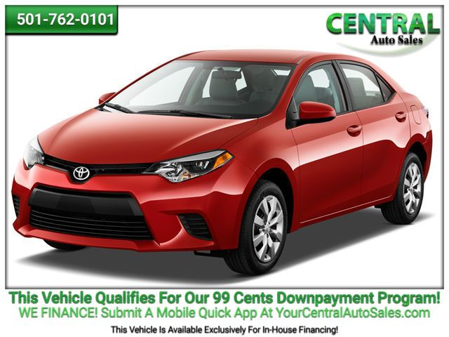 2015 Toyota COROLLA    Hot Springs, AR   Central Auto Sales in Hot Springs AR
