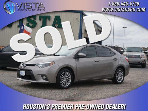 2015 Toyota Corolla LE in Houston, Texas