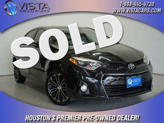 2015 Toyota Corolla S Plus  city Texas  Vista Cars and Trucks  in Houston, Texas