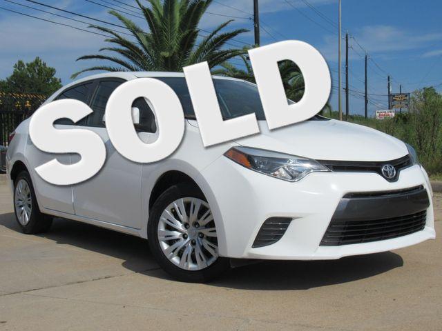 2015 Toyota Corolla LE | Houston, TX | American Auto Centers in Houston TX
