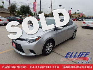 2015 Toyota Corolla LE in Harlingen TX, 78550