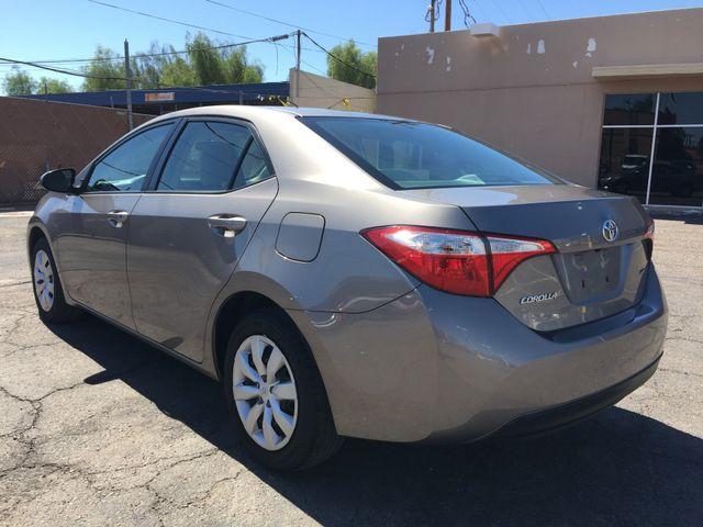 2015 Toyota Corolla LE 5 YEAR/60,000 MILE FACTORY POWERTRAIN WARRANTY Mesa, Arizona 2