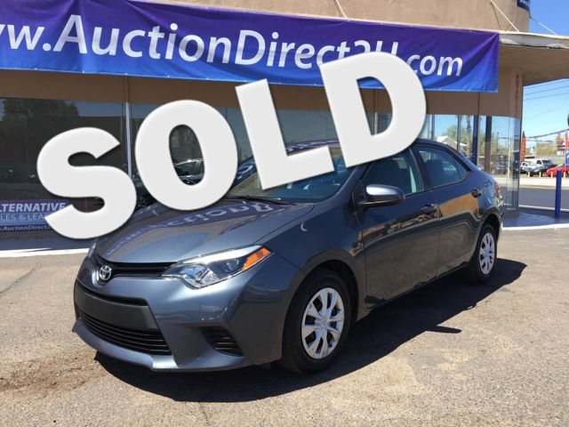 2015 Toyota Corolla L 5 YEAR/60,000 MILE FACTORY POWERTRAIN WARRANTY Mesa, Arizona