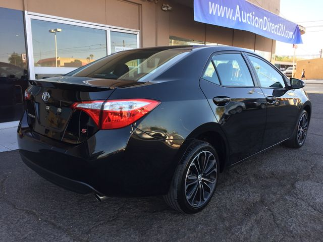 2015 Toyota Corolla S 5 YEAR/60,000 MILE FACTORY POWERTRAIN WARRANTY Mesa, Arizona 4