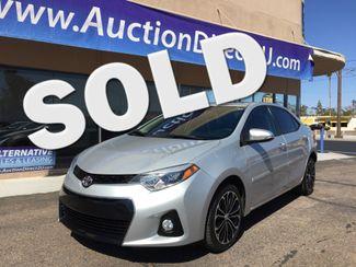 2015 Toyota Corolla S Plus 3 MONTH/3,000 MILE NATIONAL POWERTRAIN WARRANTY Mesa, Arizona