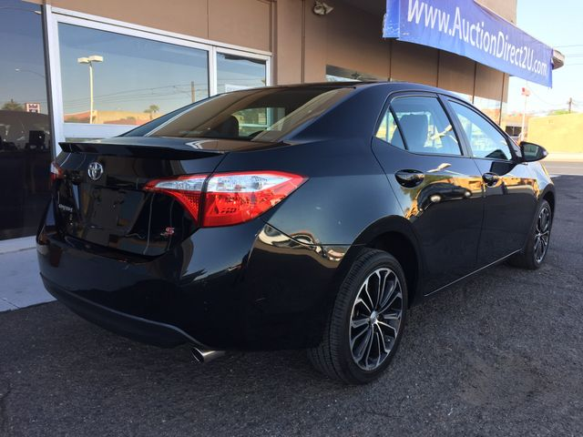2015 Toyota Corolla S Plus 5 YEAR/60,000 MILE FACTORY POWERTRAIN WARRANTY Mesa, Arizona 4