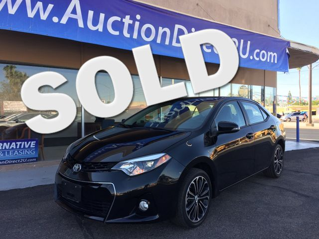2015 Toyota Corolla S Plus 5 YEAR/60,000 MILE FACTORY POWERTRAIN WARRANTY Mesa, Arizona