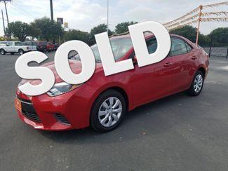 2015 Toyota Corolla LE CVT in San Antonio TX, 78233