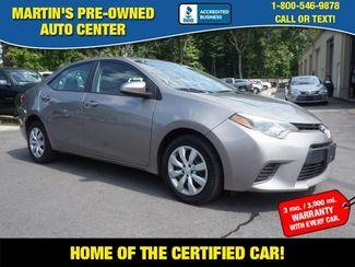2015 Toyota Corolla LE in Whitman, MA 02382