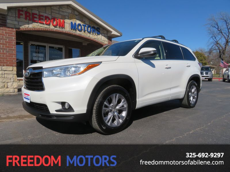2015 Toyota Highlander XLE | Abilene, Texas | Freedom Motors  in Abilene Texas