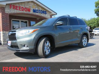 2015 Toyota Highlander Limited | Abilene, Texas | Freedom Motors  in Abilene,Tx Texas