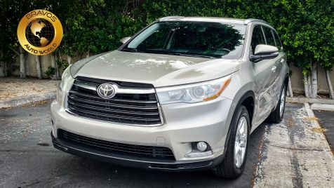 2015 Toyota Highlander Limited Platinum in cathedral city
