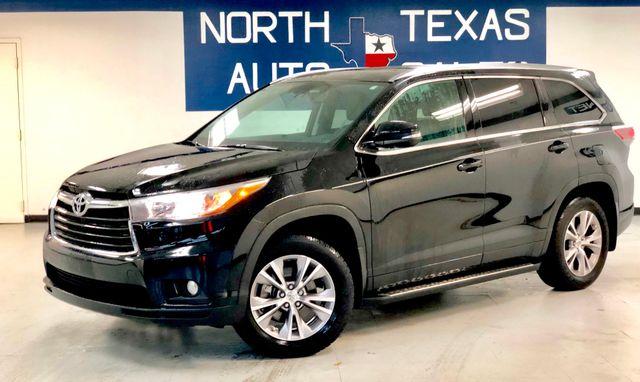2015 Toyota Highlander XLE ONE OWNER