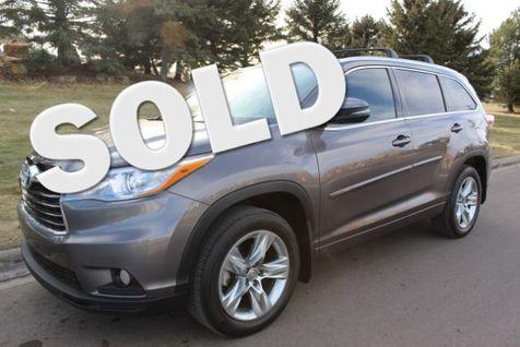 2015 Toyota Highlander 4d SUV AWD Limited Platinum in Great Falls, MT