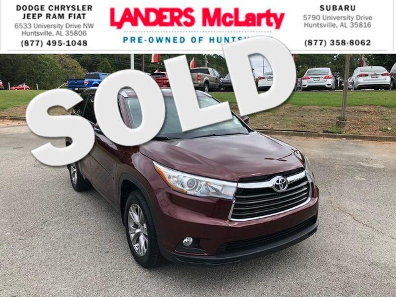 2015 Toyota Highlander XLE   Huntsville, Alabama   Landers Mclarty DCJ & Subaru in Huntsville Alabama