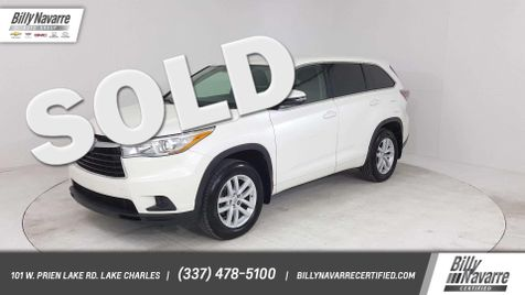 2015 Toyota Highlander LE in Lake Charles, Louisiana