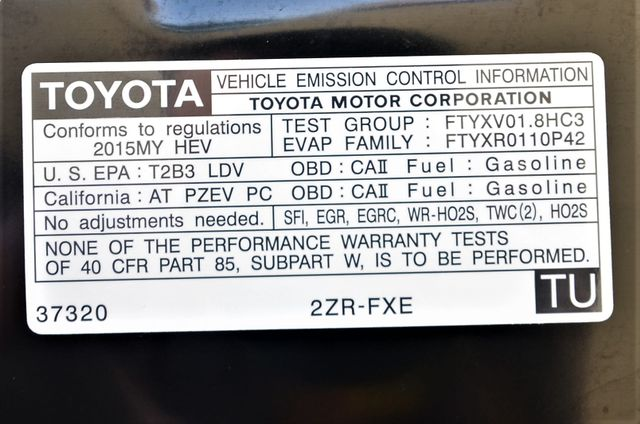 2015 Toyota Prius Four Reseda, CA 37