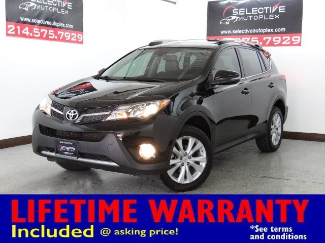 2015 Toyota RAV4 Limited, NAV, LEATHER SEAT, SUNROOF, REAR VIEW CAM in Carrollton, TX 75006