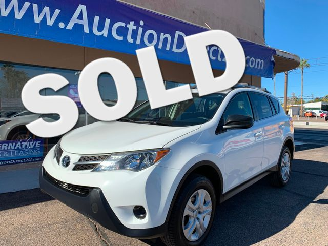 2015 Toyota RAV4 LE 5 YEAR/60,000 MILE FACTORY POWERTRAIN WARRANTY Mesa, Arizona