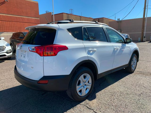 2015 Toyota RAV4 LE 5 YEAR/60,000 MILE FACTORY POWERTRAIN WARRANTY Mesa, Arizona 4