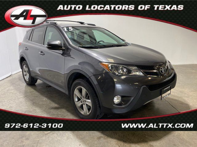 2015 Toyota RAV4 XLE with SUNROOF in Plano, TX 75093