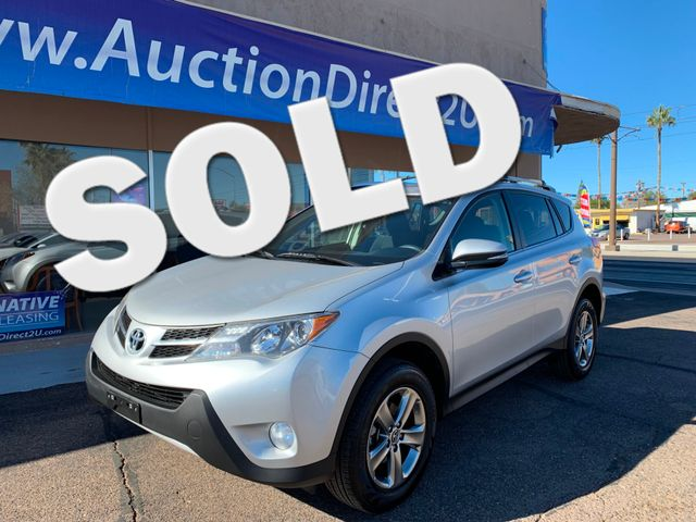2015 Toyota RAV4 XLE 5 YEAR/60,000 MILE FACTORY POWERTRAIN WARRANTY Mesa, Arizona
