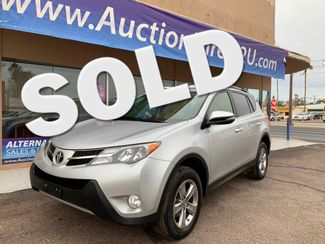 2015 Toyota RAV4 XLE 3 MONTH/3,000 MILE NATIONAL POWERTRAIN WARRANTY Mesa, Arizona