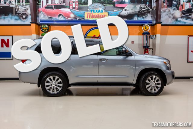 2015 Toyota Sequoia 4X4 Limited