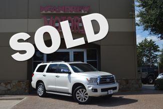 2015 Toyota Sequoia Platinum Edition in Arlington, TX Texas, 76013