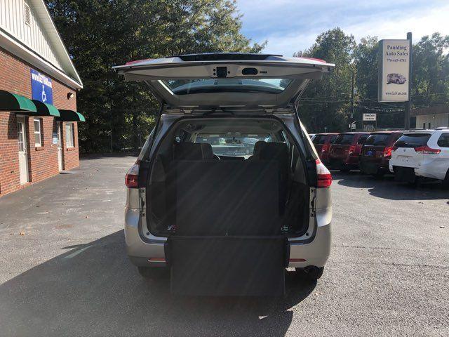 2015 Toyota Sienna Handicap wheelchair accessible rear entry Dallas, Georgia 2
