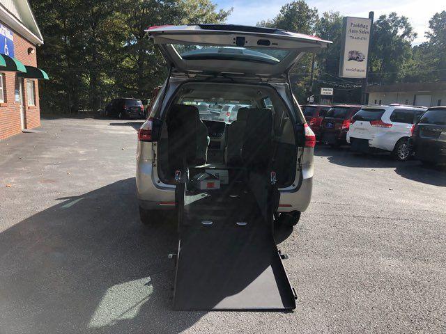 2015 Toyota Sienna Handicap wheelchair accessible rear entry Dallas, Georgia 3