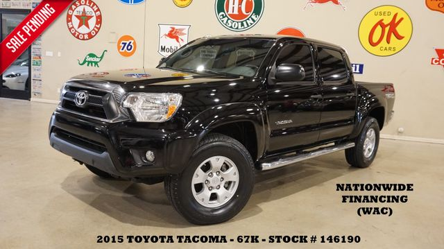 2015 Toyota Tacoma TRD OFF ROAD 4X4 AUTO,BACK-UP CAM,CLOTH,67K