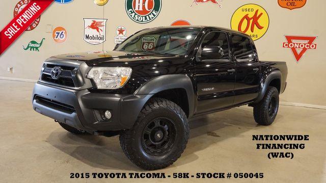 2015 Toyota Tacoma PreRunner 4X2 BACK-UP CAM,CLOTH,58K,WE FINANCE