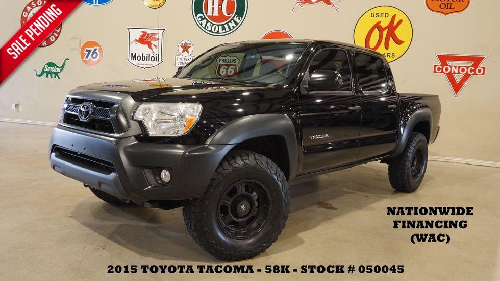 2015 Toyota Tacoma PreRunner 4X2 BACK-UP CAM,CLOTH,58K,WE