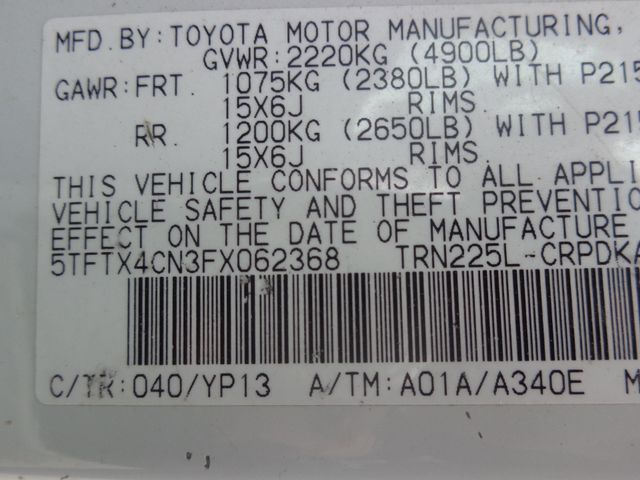 2015 Toyota Tacoma Hoosick Falls, New York 6