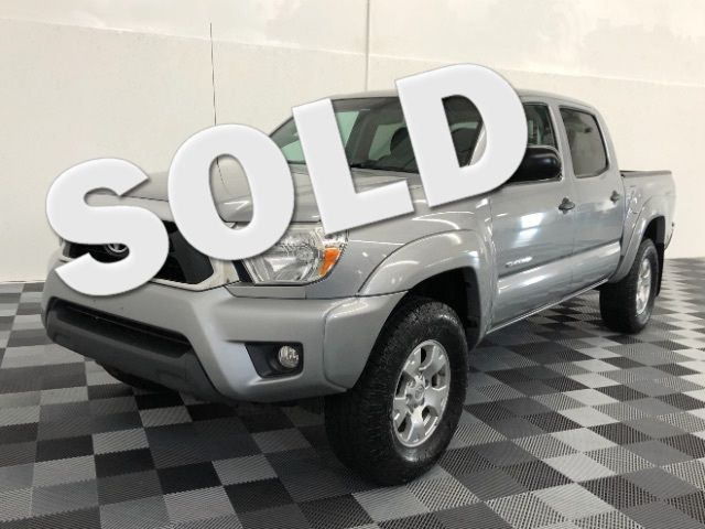 2015 Toyota Tacoma Double Cab V6 5AT 4WD LINDON, UT